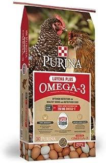 Purina Layena + Omega-3 Layer Feed, 40 lb