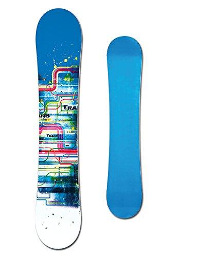 TRANS LTD Boy Kinder Snowboard Set ~ 115 cm + ELFGEN ECO BINDUNG S + PAD
