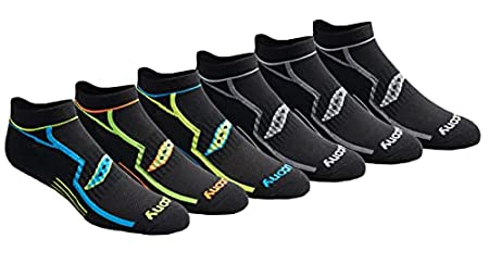 Saucony Men's Multi-Pack Bolt Performance Socks