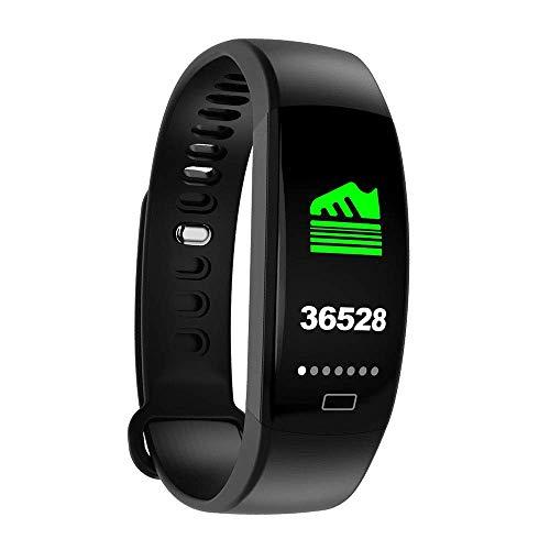 OH Pulsera Inteligente F64 Moda, Impermeable Ip67 Actividad Ver Tracker con Monitor de Ritmo Cardíaco, Hombres Mujeres Deportes Reloj Elegante, para Android Ios regalo de vacaciones