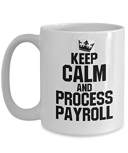 Taza de café para empleados de nómina, regalo para empleados de oficina, especialistas en nóminas de nóminas, regalo para compañeros de trabajo gerente de nómina de contabilidad