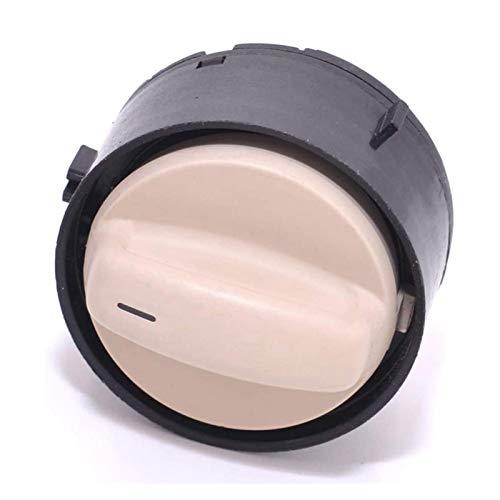 MeiZi Coche Beige SunRoof Switch Fit para Passat Golf Jetta Beetle Touran Skoda Octavia Fabia 1J0959613G (Color : Black Beige)