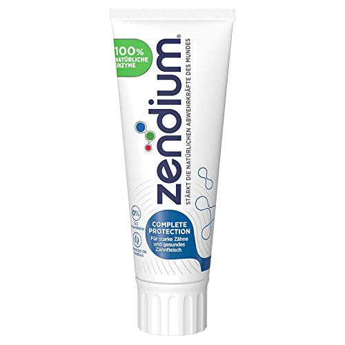 Zendium Zahnpasta Complete Protection (mit milden Aromen und Bio-Science Formel mit Proteinen und Enzymen) (1 x 75 ml)