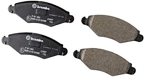 Brembo P 61 063 Pastillas de Frenos
