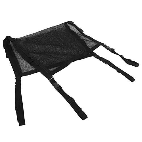 Bolsa de almacenamiento de techo para coche, color negro