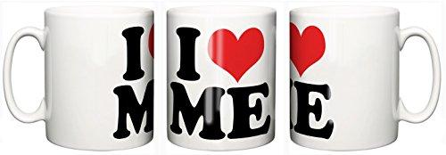 IiE, I Love Heart Me, café o té taza de cerámica