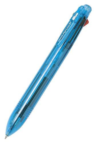 マルチシリーズフェアライン51クリアスカイブルー(5色ボールペン+シャープペンシル)