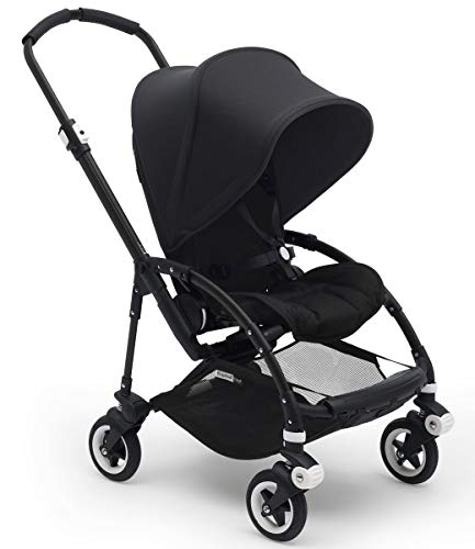 Bugaboo Bee5 Complete Stroller, Black/Black - Compact, Foldable Stroller for...