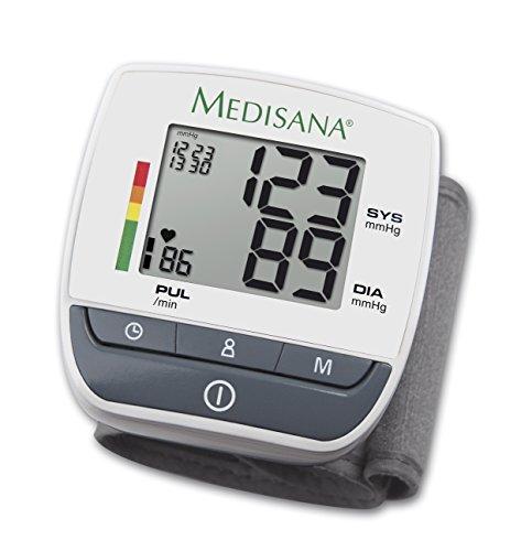 Medisana BW 310 - Tensiometro de muneca, color blanco y...