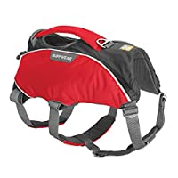 Durable harness for working dogs in cold or rugged environments, Full range of motion for skiing, snowboarding and search-and-rescue, Built for loading dogs into rescue vehicles, Perfect for Labrador retrievers, Rottweilers and similar sized breeds S...