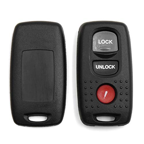 DyniLao nuevo 3 botones llavero mando a distancia carcasa de repuesto KPU41794 para Mazda 3 6