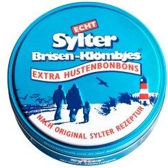Echt Sylter Brisen-Klömbjes 3er Sparset (3x70g). Extra Hustenbonbons. Nach Original Sylter Rezeptur.