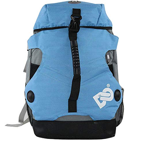 RJHY Rollschuh-Rucksack, wasserdichte Rollschuh-Tasche im Freien Rucksack-Rochen-Rollschuh-Erwachsene Männer und Frauen-Tarnungs-Tasche,Blue