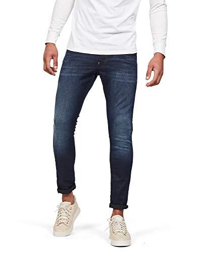 G-STAR RAW Herren Revend Skinny Jeans, Dark Aged 6590-89, 30W / 30L