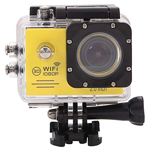 Xiaoqiaoqiao Other Camera SJ7000 Full HD 1080P 2.0 inch LCD Screen Novatek 96655 WiFi Sports Camcorder Camera with Waterproof Case, 170 Degrees HD Wide-Angle Lens, 30m Waterproof(Black)