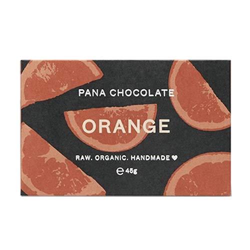 Pana Cacao - verpakking met 12 cacao-stangen in oranje - chocolade - bio - ambachtelijke productie