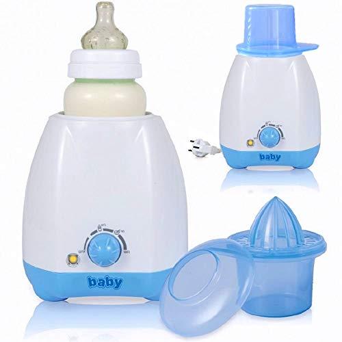 Elektrischer Babykostwärmer Flaschenwärmer für Babyflaschen mit Thermostat und stufenloser Regelung