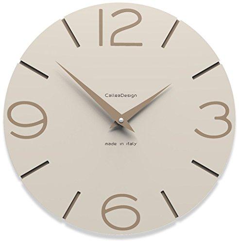orologio da parete kartell CalleaDesign 30 cm Orologio da Parete Smile Lino
