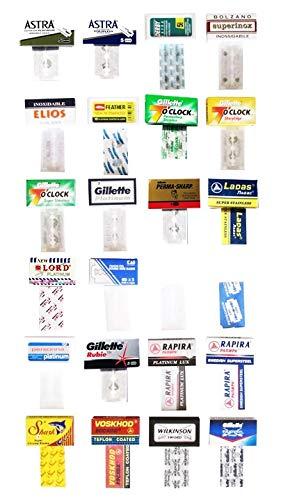 Cuchillas de afeitar de calidad de las maquinillas de afeitar de seguridad, caja de 24 cuchillas