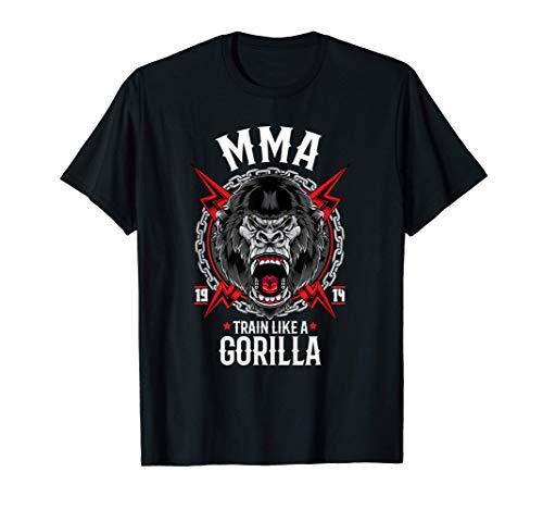 Uomo Arti marziali miste MMA Gorilla Maglietta