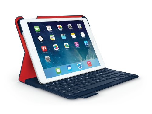 Logitech UltraThin Keyboard Folio for iPad Midnight Navy (AZERTY, französisches Tastaturlayout)