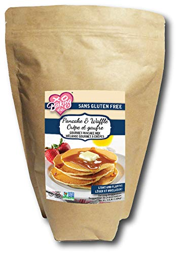 XO Baking Pancake and Waffle Gourmet Mix – Gluten Free Pancake and Waffle Mix – Light Fluffy Hotcakes and Waffles (3.5 lb.)