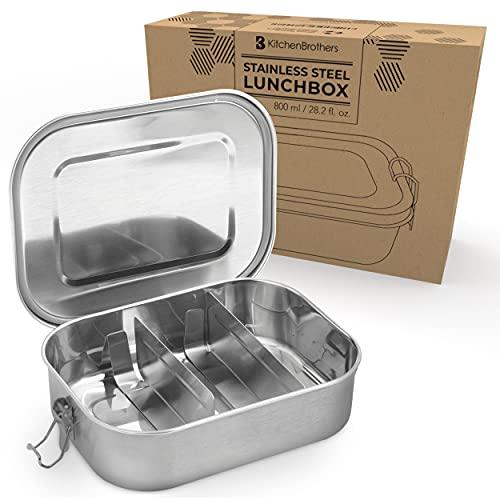 KitchenBrothers -  Edelstahl Brotdose |