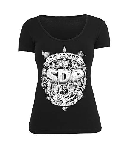 SDP Girly Top 20 Jahre, Farbe:schwarz, Größe:S