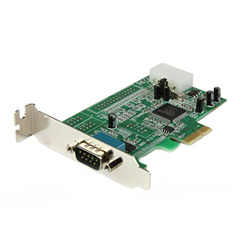 StarTech.com Seriell RS232 PCI Express Schnittstellenkarte mit 16550 UART - Low Profile
