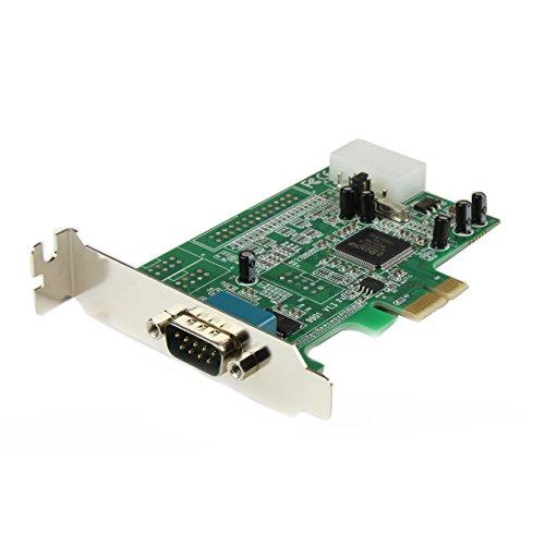 Startech.Com Scheda PCI Express Seriale Nativa Basso Profilo a 1 Porta Rs-232 con 16550 Uart