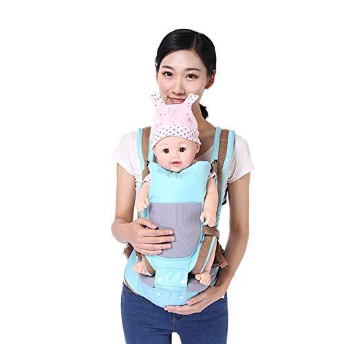ASDFGH Bebé Que Lleva de la Cintura heces Cuatro Estaciones Universal Multifuncional Backscarf Que Abraza al bebé Sentado Stool Volver Bolsa (Color : 4)