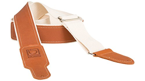 BOSS BSH-20-NAT Gitarrengurt Natur Cotton/Leather