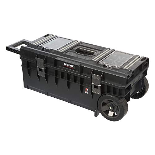TREND MS/WTBR Pro-Caja de Herramientas de Almacenamiento Modular con Ruedas, 600mm Toolbox
