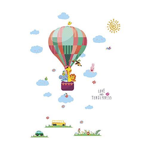 Muursticker voor kinderkamer, muurstickers, dieren, giraf, om zelf te maken, voor kinderen