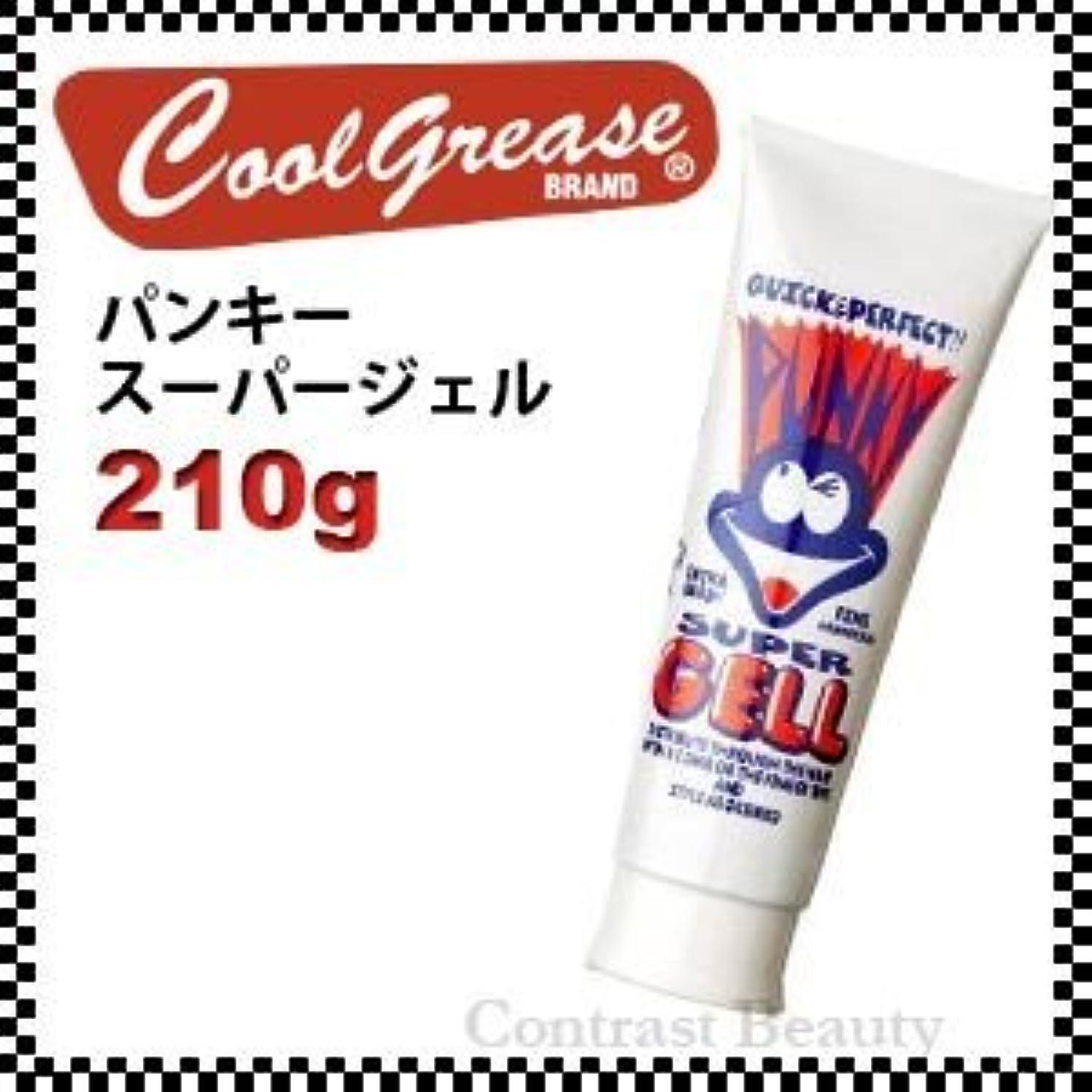 石炭預言者コミットメント阪本高生堂 パンキー スーパージェル 250g