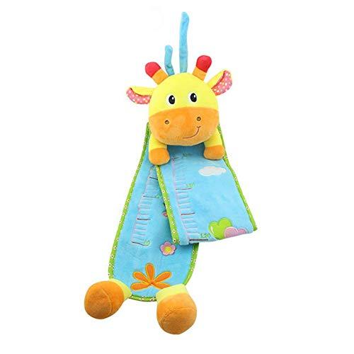 lujiaoshout Croissance bébé Toise jusqu'à 140cm, Toise en Peluche pour Les Enfants (Girafe)