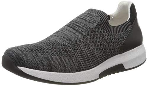 Gabor Damen Rollingsoft 46.94 Sneaker, Grau (Grey/Schwarz 17), 39 EU