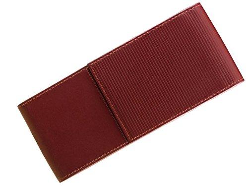 Lamy 1325584 Lederetui Nappaleder für 3 Schreibgeräte Rot