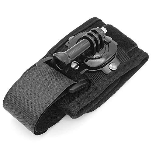 Hensych 360 graden roterende pols Hand Band Statief Mount Houder voor GoPro Hero 1/2/3/3+/4/5/6/7/8 Action Camera