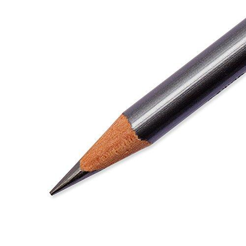 Sanford Ink Company 14420 Design Ebony Sketching Pencil44; Black Matte Barrel44; Dozen