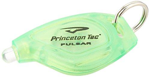 Princeton Tec Pulsar Porte-clés lumière (10 lumens), P-2-NY, Jaune