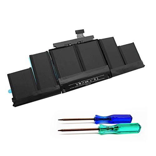 Puredick A1417 A1398 Battery for MacBook Pro Battery 15 inch Retina Mid 2012 Early 2013, Fit for MacBookPro 10,1 2012 2013 MacBook Pro Battery A1398 [11.26V/99Wh] - (Not for A1398 Late 2013)