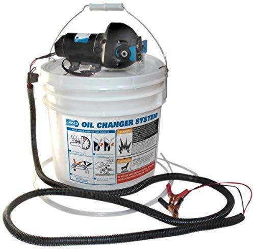 Jabsco 17850-1012 DIY Engine Oil Change System, 3.5 Gallon Capacity, 12 Volt , Black