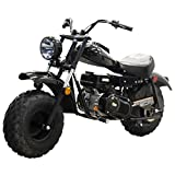 X-PRO Supersized 200CC Youth Mini Bike Gas Powered Mini Trail Bike Scooter Mini Motorcyle,19' Wide...