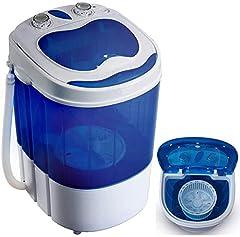 Mini pralka z procą | Pralka do 3 KG | Pralka podróżna | Mini pralka | Camping Mobilna pralka | Toploader | (1 komora)