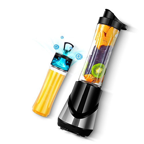 Learn More About DULPLAY Juice Cup,Juicer Machine,Slow,Stainless Steel,Fully Automatic,Portable Blender,Fruit Mixer Personal Portable Smoothie Home 600 ml-Black