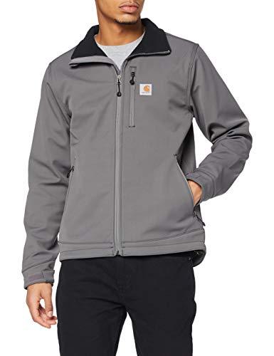 Carhartt Crowley Jacket Ropa de abrigo, Charcoal, L para Hombre