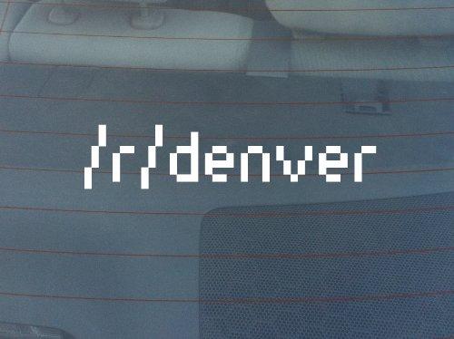 r/Denver Window Decal - White