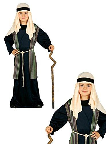 GUIRMA Pastor árabe Traje Azul de niño judío Que Vive Natividad