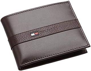 محفظة تومي هيلفجر الرجالية،من الجلد، لون بني، 31TL22X062200